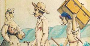 """Figurantes para el """"Pregón de Indianos"""""""