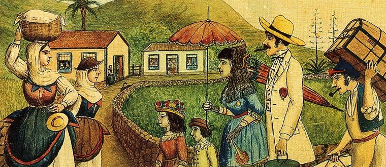 """""""Los Indianos"""". El Cuadro. Santa Cruz de La Palma"""