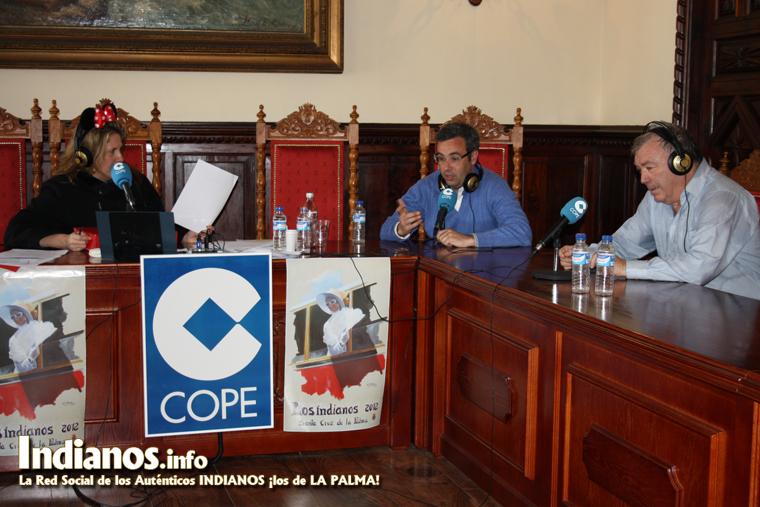 El programa Dos días contigo en directo desde el Ayuntamiento de Santa Cruz de La Palma