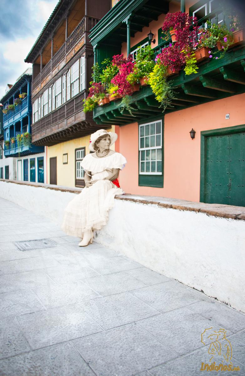 La dama de los indianos. Foto Álvaro Armas Dorta.