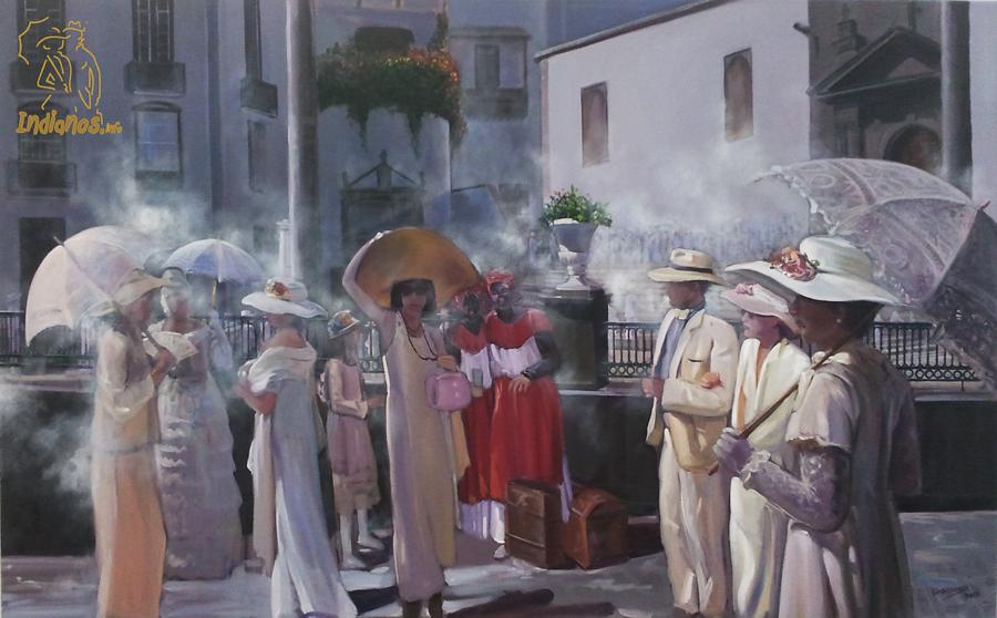 """Exposición de """"Los Indianos de Luis Morera"""""""