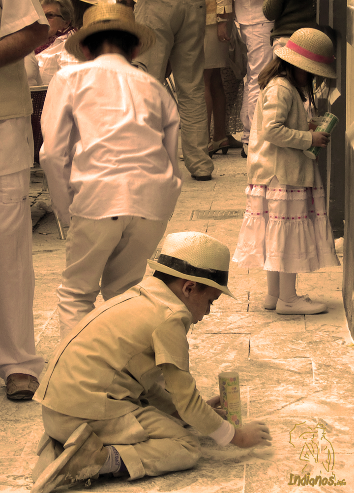 Recogiendo el Tesoro. Foto: Natalia Ónega Hernández