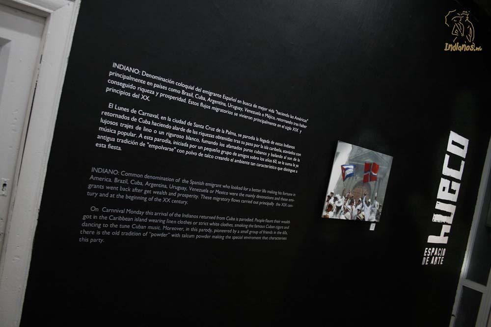 """La muestra """"Los Indianos"""" permanerá abierta hasta el 8 de Marzo de 2013."""