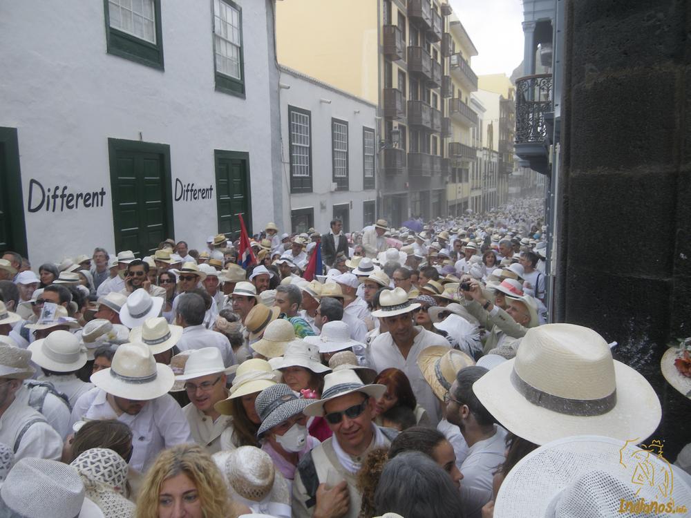 Desfile de los Indianos en Santa Cruz de La Palma