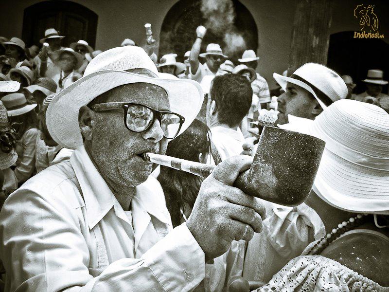 Título: La cachimba. Foto: Carlos Herrera.
