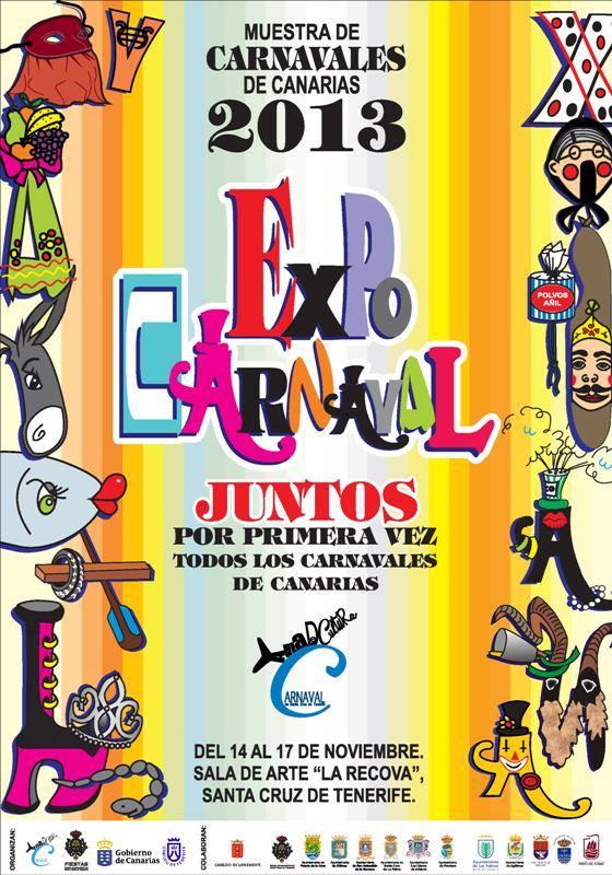 'ExpoCarnaval', primera muestra de Carnavales de Canarias