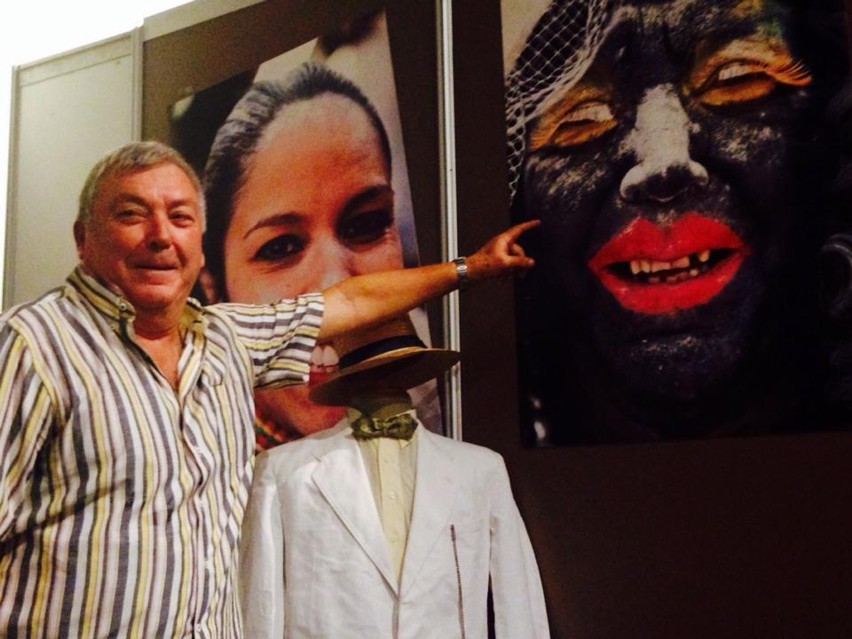 La popular Negra Tomasa (Víctor Lorenzo Díaz, más conocido como Sosó) visita ExpoCarnaval en Tenerife.