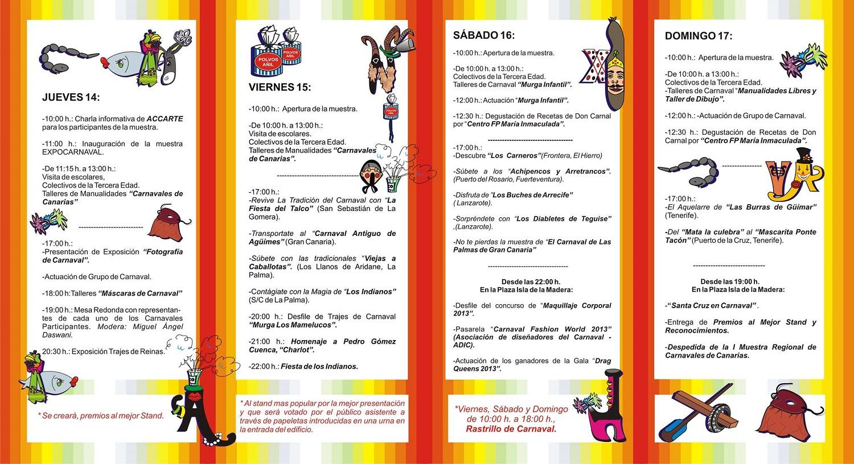 Programa completo de ExpoCarnaval 2013