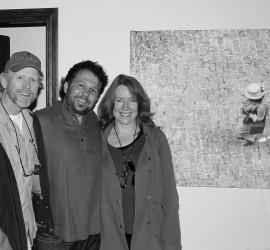 Z Ron y Cheryl Howard con David Guanche