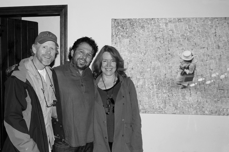 """La obra """"Retiro en Los Indianos"""" del fotógrafo tinerfeño David Guanche viaja en estos días a la mansión de Ron Howard, famoso director de Hollywood."""