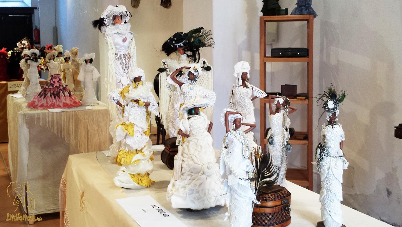 Exposición de muñecas de época en la Sala del Colegio de Abogados de Santa Cruz de La Palma