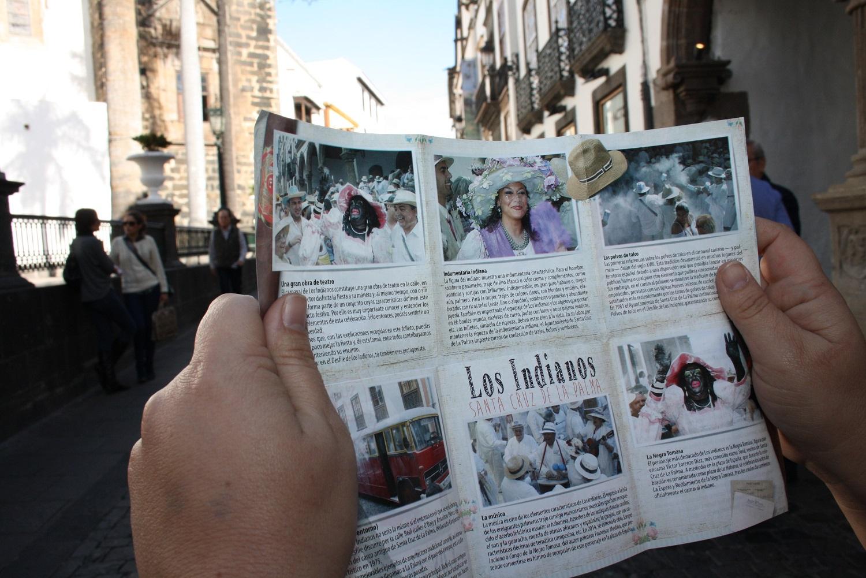 Santa Cruz de La Palma edita un folleto divulgativo para dar a conocer los elementos característicos de Los Indianos