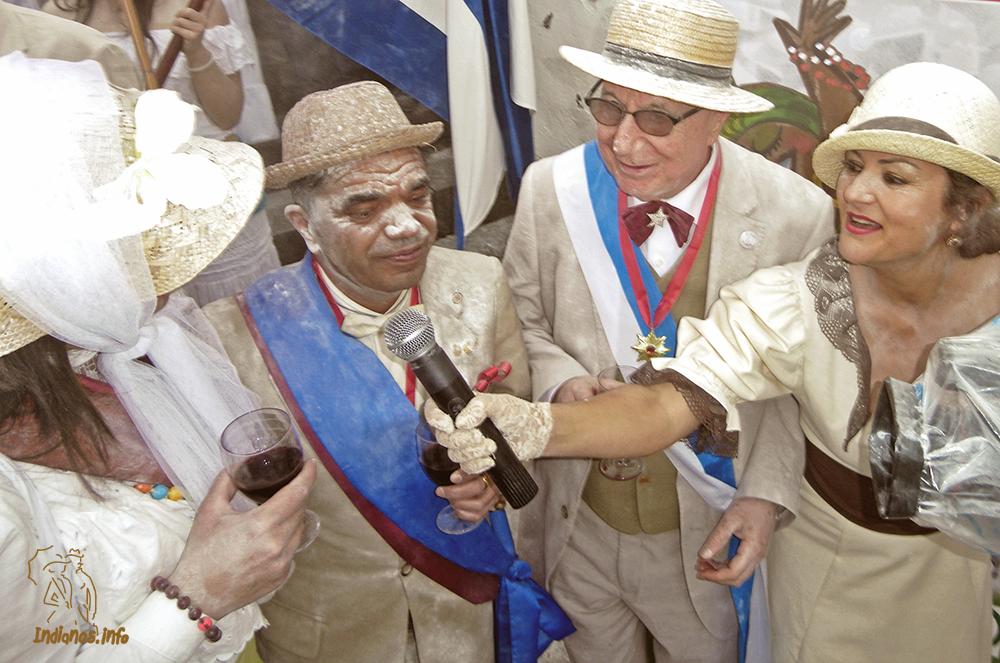Los Indianos. Antonio Abdo y Quique Santacruz