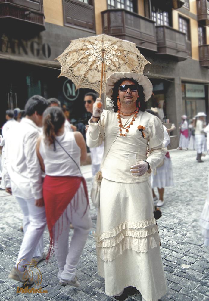 Los Indianos. El humor. 2013