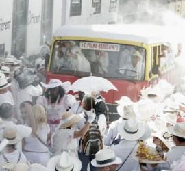 Transportes Insular de La Palma con los Indianos 2015.