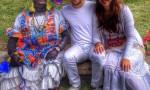 Indianos con la Negra Tomasa. Foto móvil. Silvia Medina Sanfiel