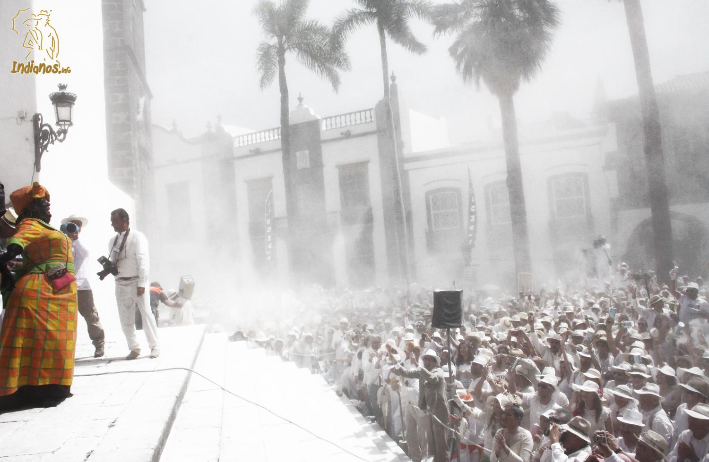 Llegada de la Negra Tomasa a la plaza de La Habana.