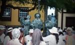 Participando en Los Indianos. Foto: Guacimara Gómez