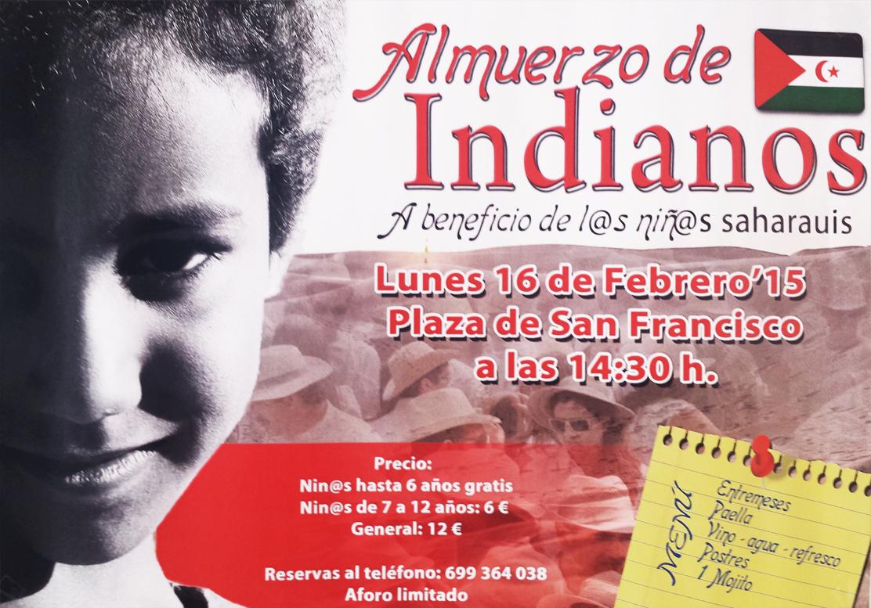 La Asociación de Amigos del pueblo Saharaui en La Palma organiza su tradicional almuerzo de Indianos