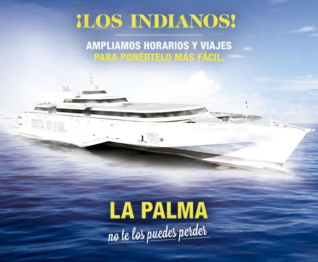 Fred Olsen refuerza su conexión con La Palma para Los Indianos 2015