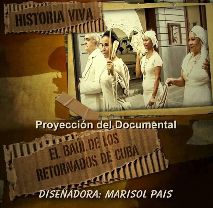 """Proyección de """"El baúl de los retornados de Cuba"""""""