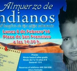 La Asociación de Amigos del pueblo Saharaui en La Palma organiza su tradicional almuerzo de Indianos.