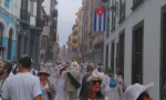 Calle Real de La Habana. Foto Móvil: Loren Hdez Perez.