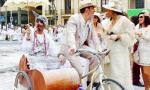Feliz reencuentro teñido de blanco Foto Movil Adrian Garcia Rguez