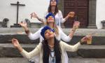 Tres santeras en los indianos Foto Movil Victoria Quedada Hdez