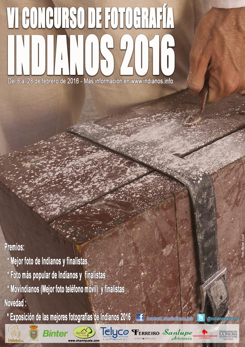 Se convoca el VI Concurso de fotografía de Indianos. Este año además realizaremos una exposición con una selección de las 30 mejores fotografías participantes este año 2016.