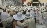 Me dijo que estaban por alli y que estaban vestidos de blanco Foto Movil Daniel Perez Guerra